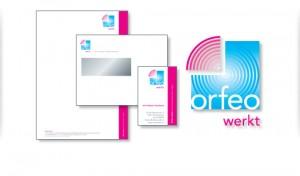 logo ontwerp orfeo werkt