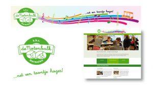 huisstijl en website basisschool de Notenbalk