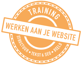 seo website structuur beeld training