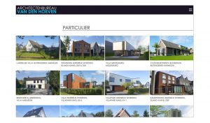 nieuwe website architect