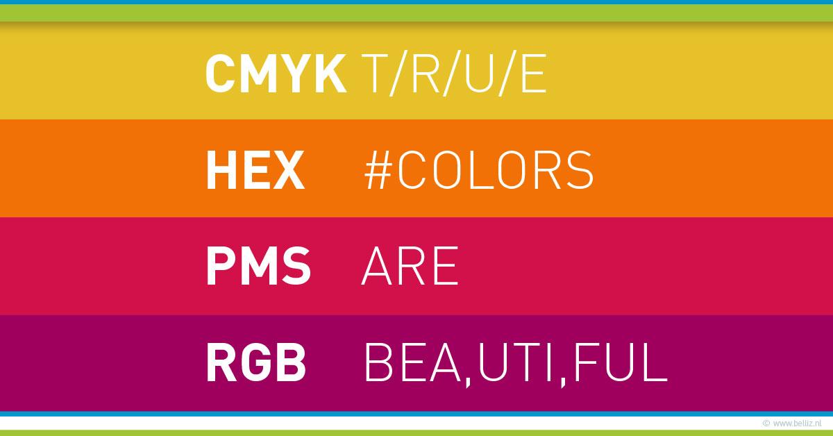 kleuren in je huisstijl en website