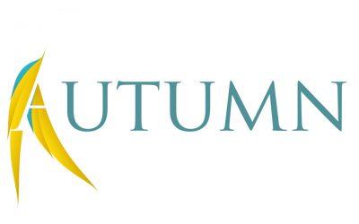 Logo in herfstsfeer