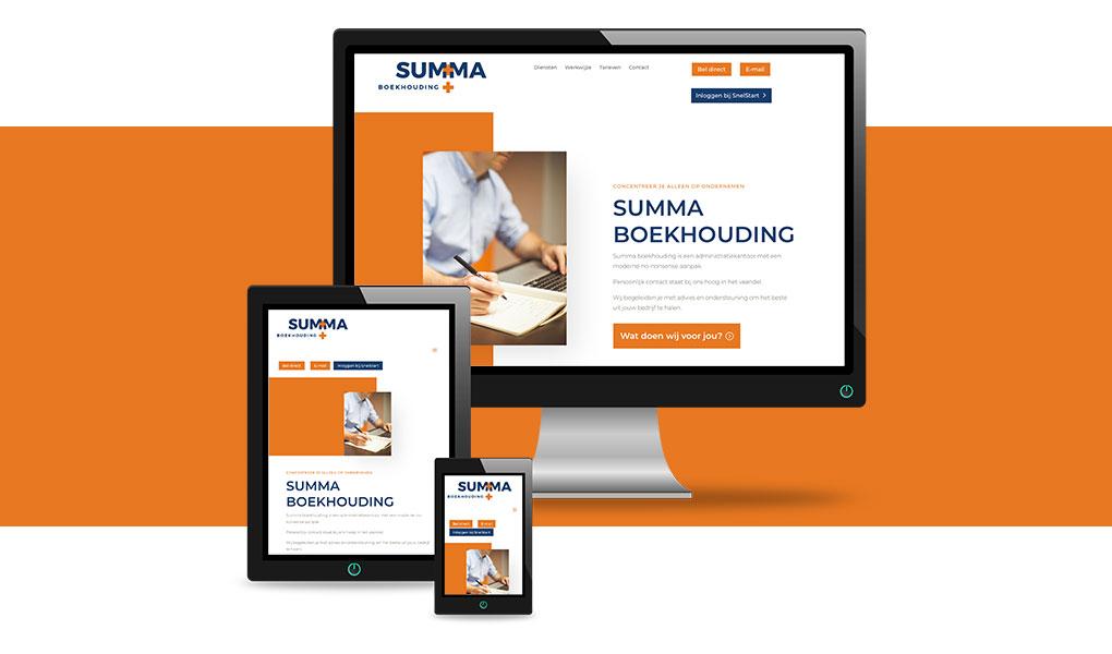 nieuwe eenvoudige website