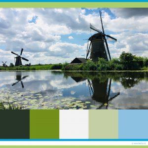 kleurpalet groen-blauw