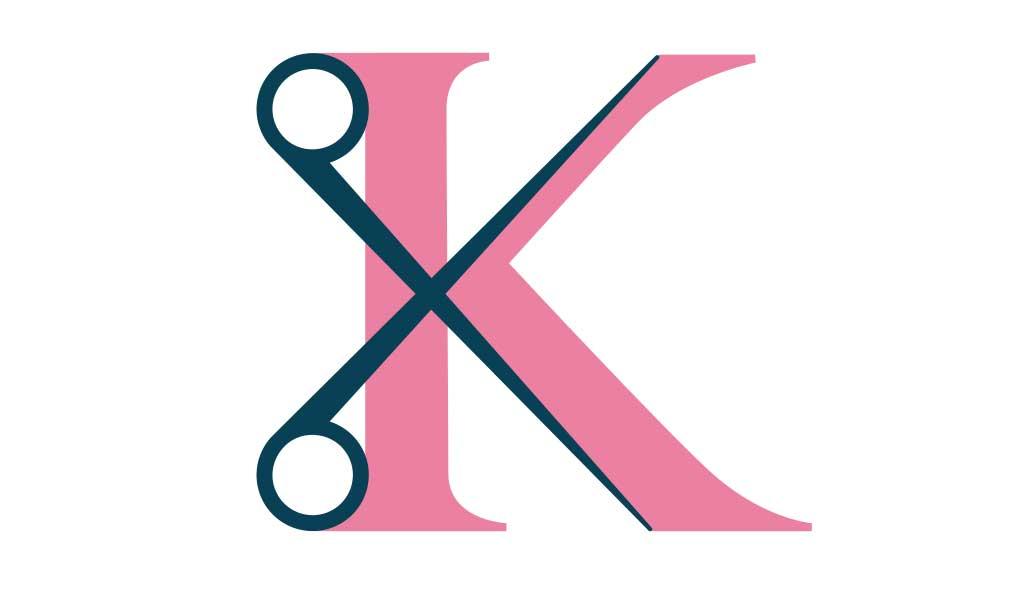 logo ontwerp -K