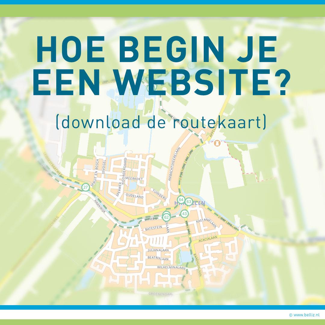 hoe begin je een website download stappenplan
