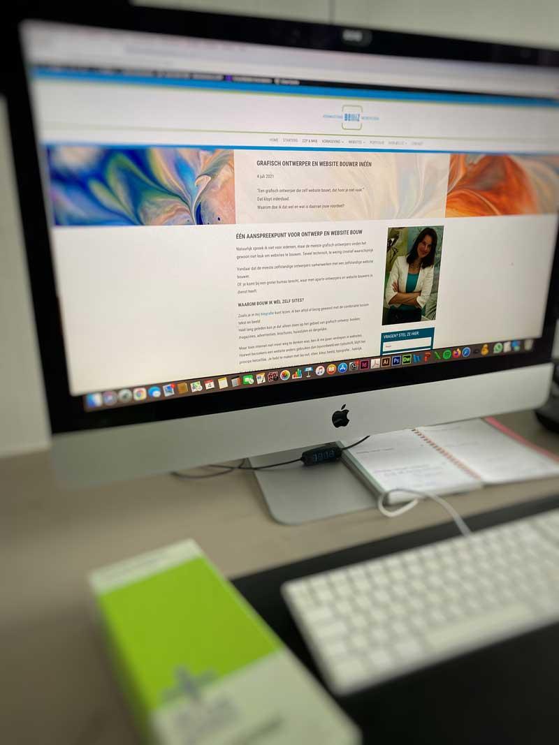 grafisch ontwerper en website bouwer